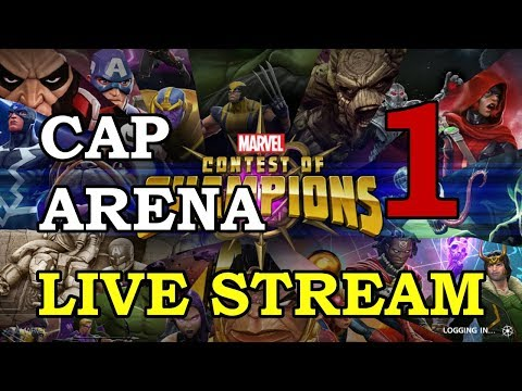 Cap Arena - Part 1 | Marvel Contest of Champions Live Stream