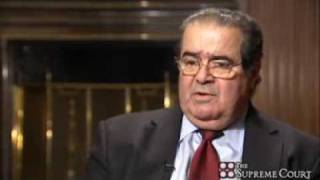 Justice Scalia on Judges