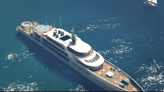GTA Online Executives and Other Criminals SUPER YACHT INSIDE & OUTSIDE TOUR!