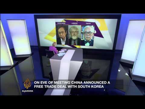 Inside Story - China improving relations with rivals