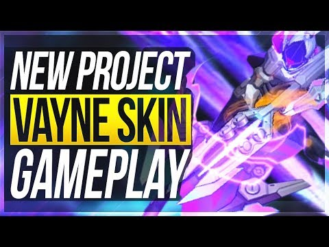 100% BEST SKIN IN LEAGUE!! New Project Vayne Gameplay - League of Legends
