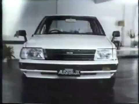 Nissan Auster JX 1981 Commercial (Japan)