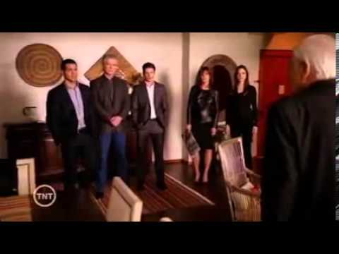 DALLAS 2012 Clip (Cliff Barnes Is Framed And Arrested For J.R.'s Murder)