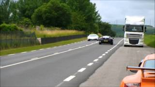 Lambo LP570 Drive By with Brutal Noise