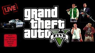 GTA 5 | Live ab 17.oo Uhr, am Montag, 27.11.2019