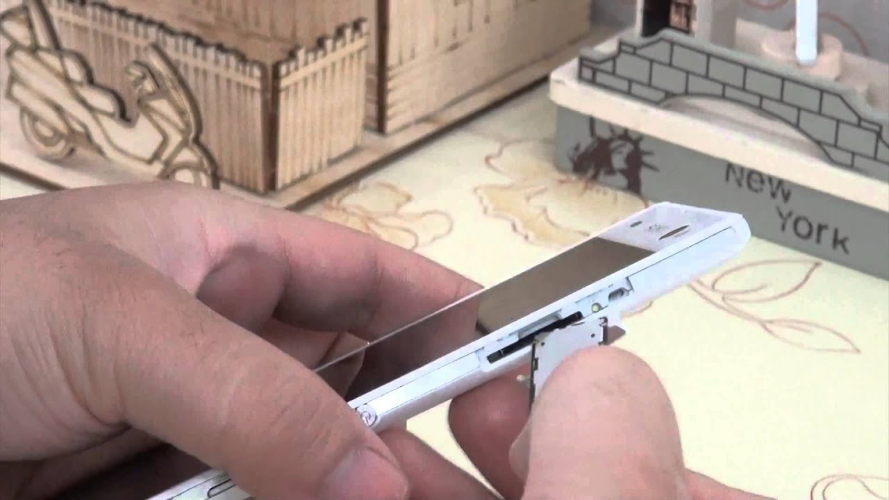 How to Insert SIM Card & Micro Sd Card in to Sony Xperia C3