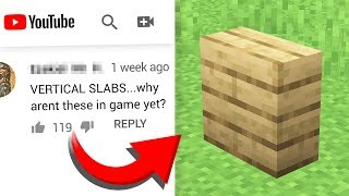 Turning COMMENTS into Minecraft CRAFTING RECIPES! #4