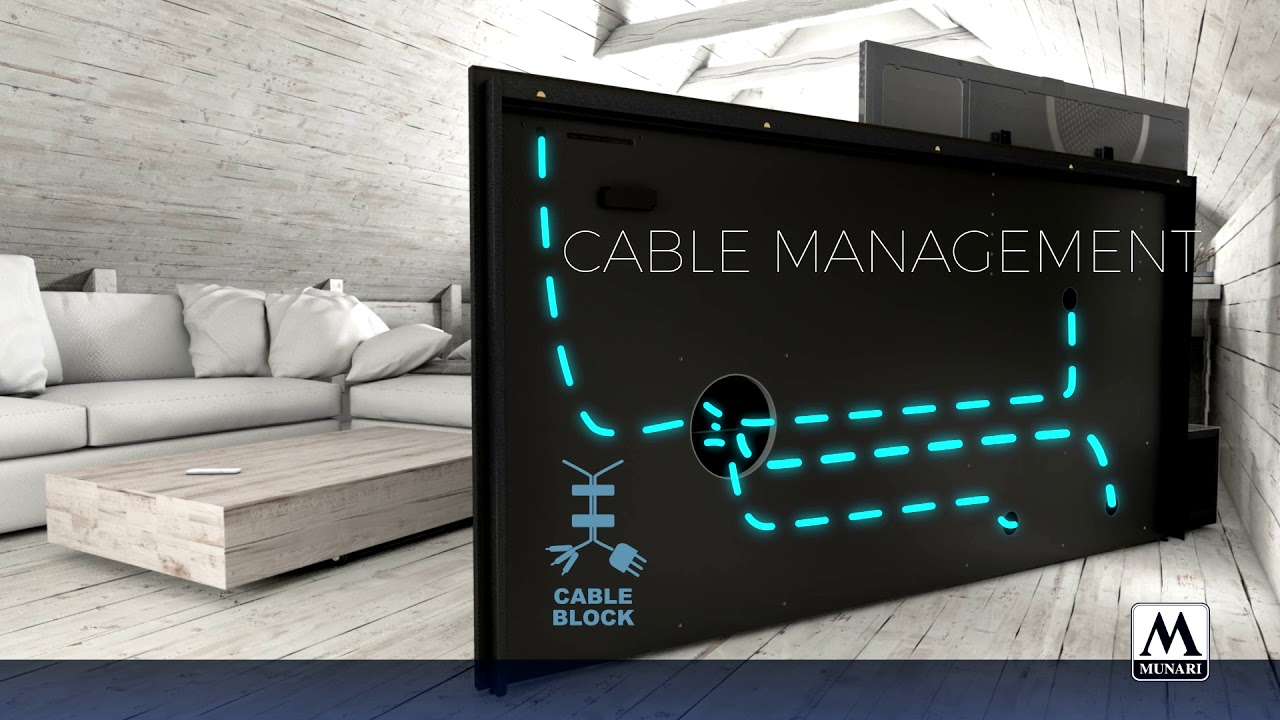 munari leggera collezione mobili intelligenti per zona tv