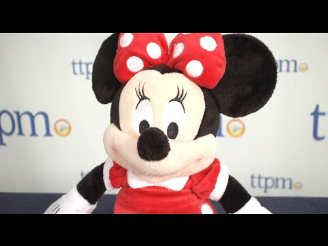 Minnie Mouse Small 12-inch Plush From The Disney Store
