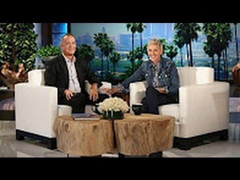 ELLEN SHOW Meets TOM HANKS & He Talks 'SULLY' The MOVIE & Spills SET GOSSIP !! (VIDEO}