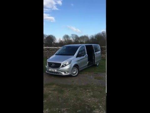 New Mercedes Vito - Premier Travel Chauffeurs