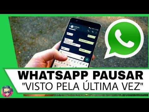 """Truque Whatsapp! Como Pausar """"Visto Pela Última Vez"""" no App"""