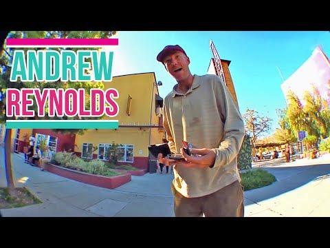 "Andrew Reynolds Skateboarding ""Legend and Big Boss"""