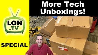 More Tech Unboxings! New Unifi Router, Soundbars, Retro Gaming Books, Computers and More!