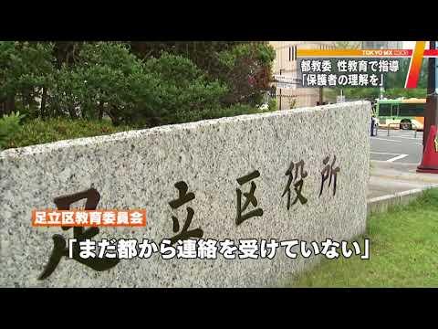 東京・足立区の中学校で「性教育」 自民都議が不適切と批判