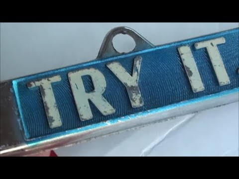 Try It You Ll Like It Vintage License Plate Frame Before