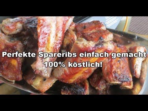 Spareribs Gasgrill Zeitler : Spareribs einfach gemacht 100% lecker! youtube
