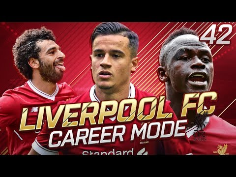 FIFA 18 Liverpool Career Mode #42 - INCREDIBLE GOALS WITH SURPRISE HATTRICK!