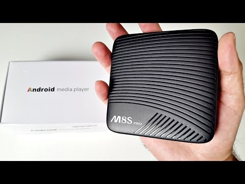 M8S PRO 4K Android TV Box Review