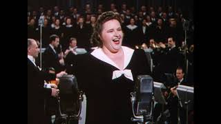 God Bless America Sung by Kate Smith -  This is the Army 1943 HD