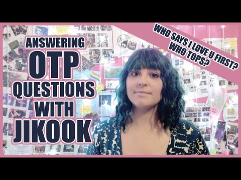 I found some OTP questions online and immediately thought of JIKOOK! So here I am, answering close to 60 situations re-imagined...