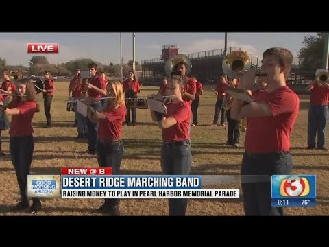 Desert Ridge High School band vying for spot in Hawaii parade