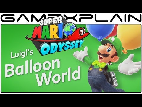 Download Youtube: Super Mario Odyssey - New Details Revealed on Luigi's Balloon World (Weather & Time of Day Changes)