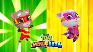 ГОВОРЯЩИЙ ТОМ ПОГОНЯ ГЕРОЕВ #17 Talking Tom Hero Dash ПОЛНОЕ ПРОХОЖДЕНИЕ