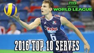 Top 10 SERVES - 2016 World League Finals