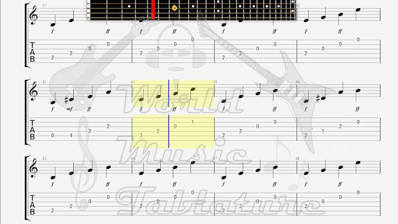 Etienne Daho Et Dani Comme Un Boomerang Guitar 1 Tab Youtube