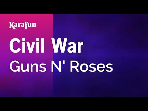 Karaoke Civil War - Guns N' Roses *