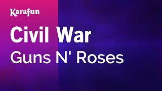 Karaoke Civil War - Guns N