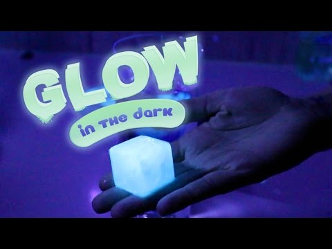 Diy Glow In The Dark Ice Cubes Edible And Easy