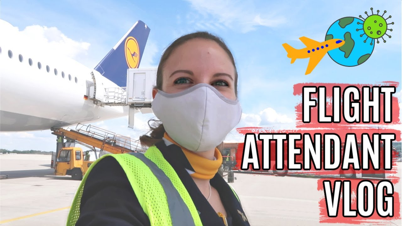 EUROPE TO USA DURING COVID-19 // International Flight Attendant Vlog 27 2020