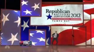 Mitt Romney Tonight Show Gangnam Style Jay Leno 강남스타일