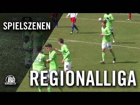 Hamburger SV II - VfL Wolfsburg II (Regionalliga Nord) - Spielszenen   ELBKICK.TV