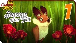 обзор игры: Seasons after Fall - игра про фыр-фыр