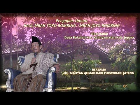 TAUSIYAH KH. MAHYAN AHMAD : 5 GOLONGAN YANG AKAN MASUK SYURGA