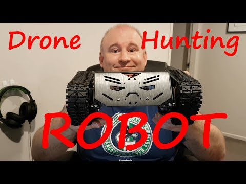 Drone Hunting Robot Gate - Pitch Video
