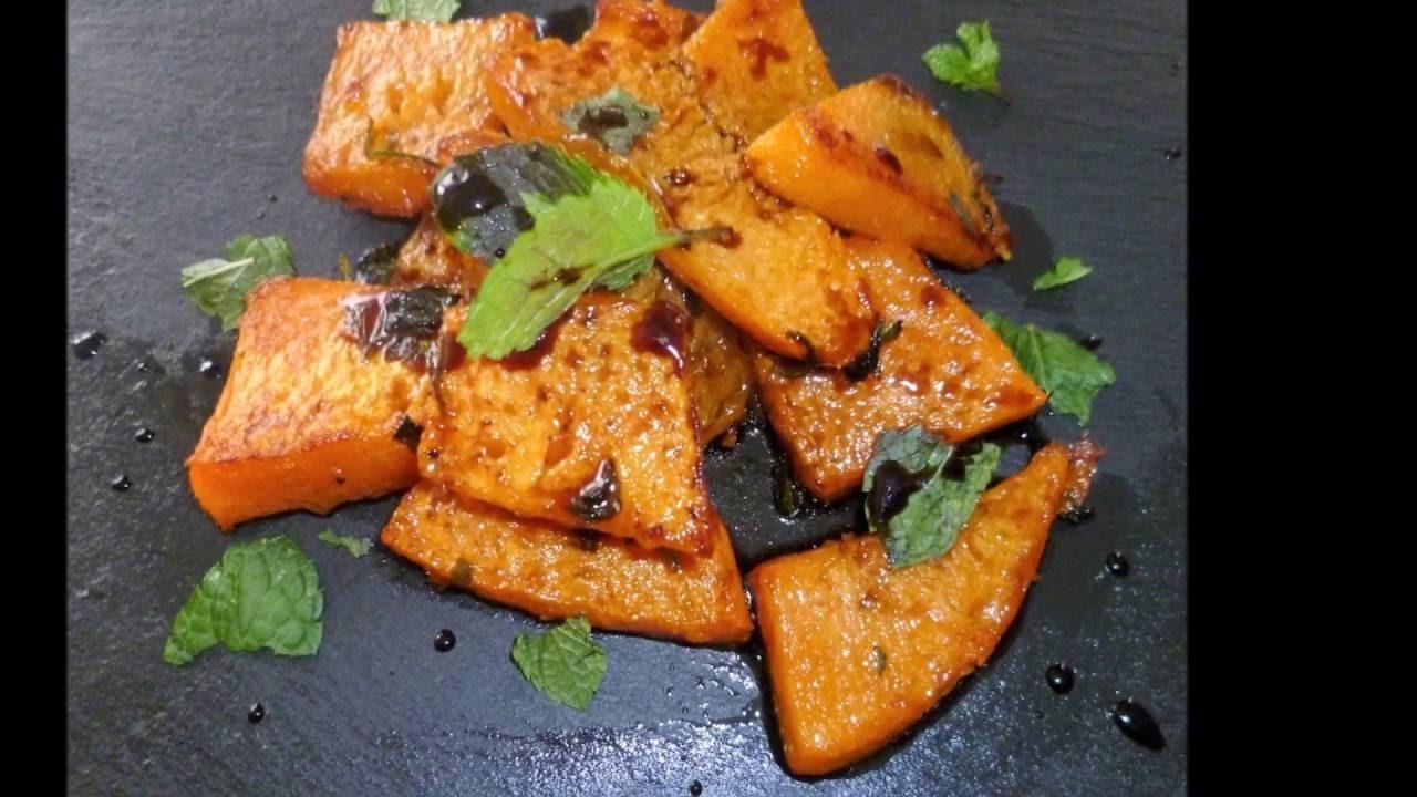 ricette con la zucca contorno di zucca fritta youtube On ricette con la zucca