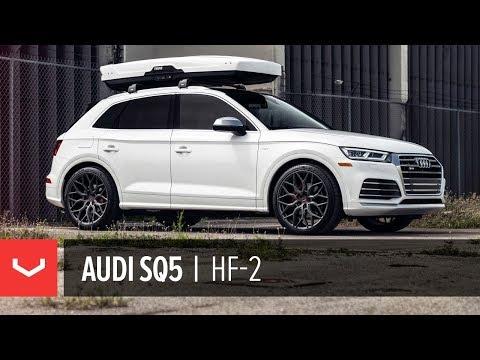 Kat's Audi SQ5 | Vossen Hybrid Forged HF-2 Wheel | Anthracite