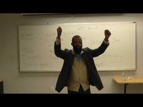 Arabic Etymology Yayah Abdul Malik P.A.S.C.E.P. Instructor Pt5