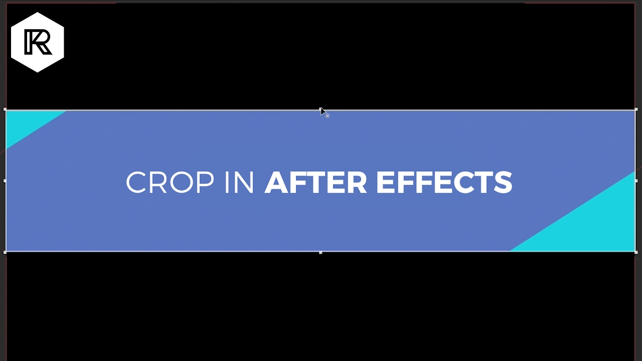 How to Crop in After Effects