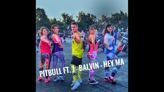 Pitbull ft. J - Balvin, Camila Cabello – Hey Ma | ZUMBA FITNESS 2017 |
