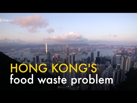 HONG KONG'S food waste problem