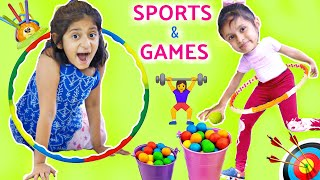 Kids Play SPORTS and GAMES to be STRONG | ToyStars