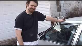Silver Buick Headliner Repair