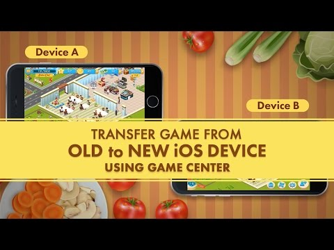 Star Chef - Transfer Your Game From Old To New IOS Device Using Game Center