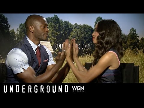 Ask Underground: How do Aldis and Jurnee solve problems on the set?