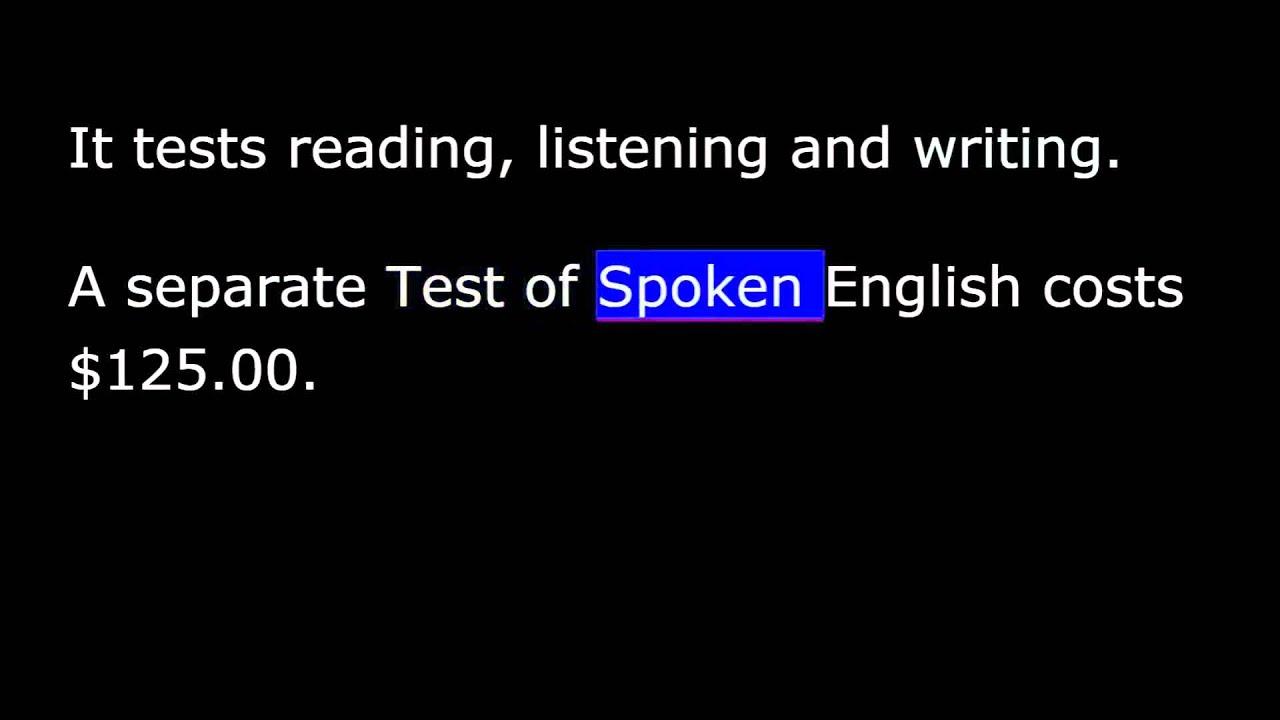 тест америка английский